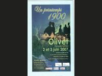 2007    « UN PRINTEMPS 1900 » PLAINE DES BECHETS OLIVET