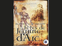 FETES  JOHANNIQUES 2009  « SUR LES PAS DE JEANNE »