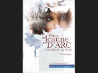 Jeanne, un sacrifice d'amour pour l'éternité…  textes de la balade historique 2013