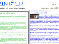 La newsletter : Brin d'Air n°1