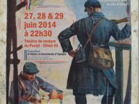 «1870-1914, ORIGINES D'UNE GUERRE INSENSÉE» REPRÉSENTATION DE SAMEDI 28 JUIN : ANNULÉE