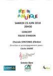 FETE DE LA MUSIQUE : CHORALE SYNTONIE